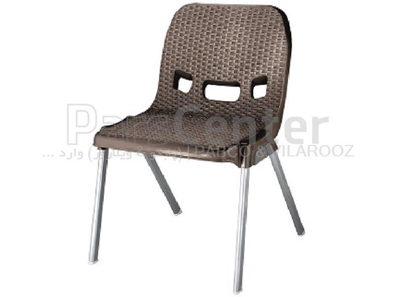 صندلی پلاستیکی حصیری 881