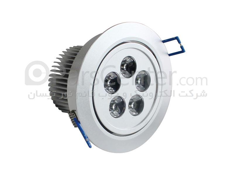 پرژکتور های سیلندری توکار هالوژنی ال ای دی(LED)