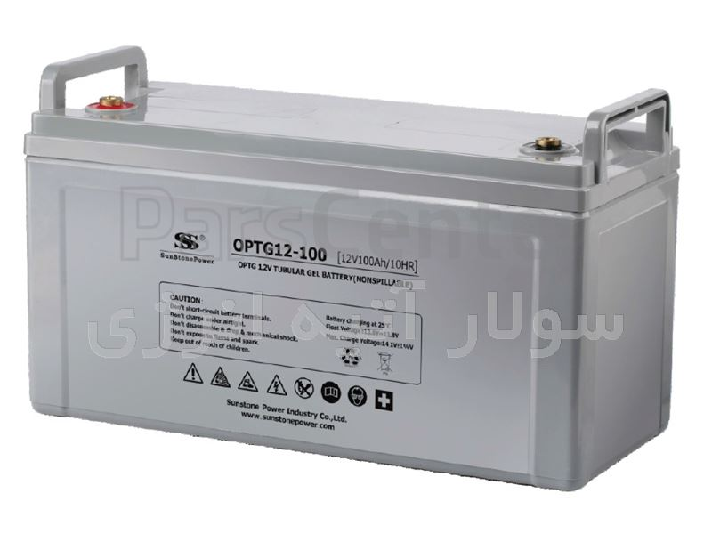 باتری ژل 100Ah-12v