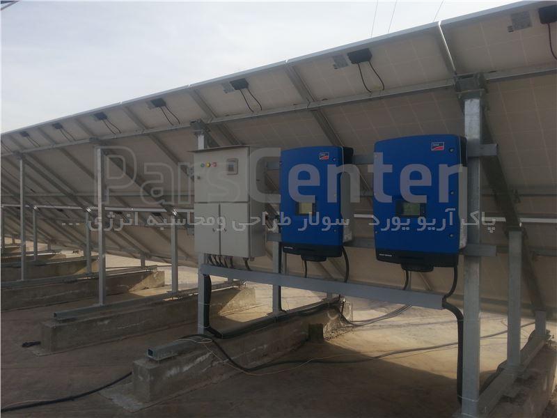 استراکچر خورشیدی  فنداسیونی مدل ft14