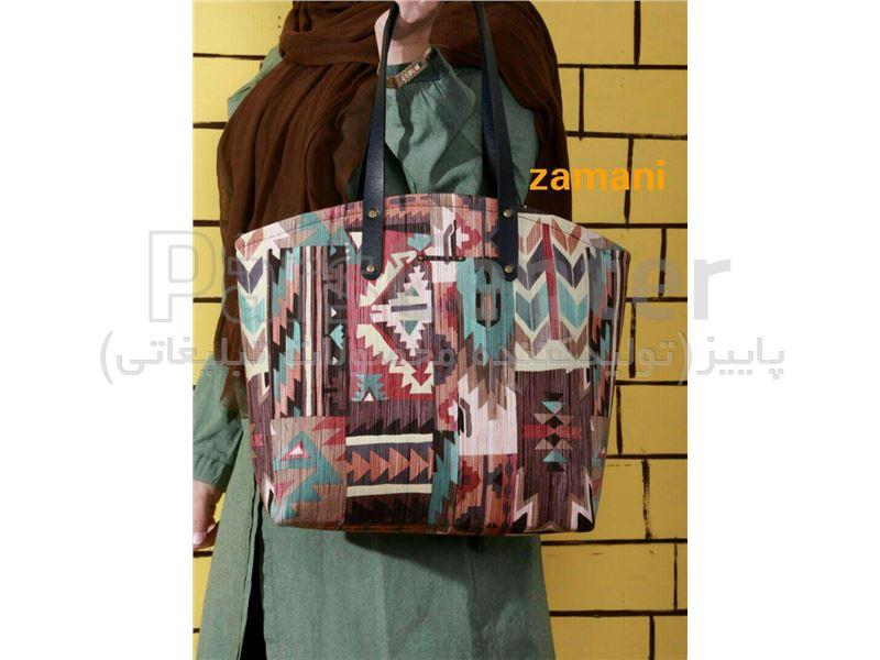 کیف زنانه سوئیت طرح دار کد 200