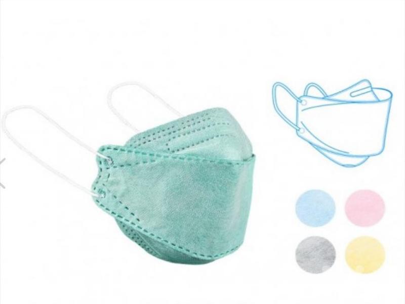 ماسکهای 3D ٤لایه - ماسک سه بعدی - ماسک سه بعدی 4 لایه