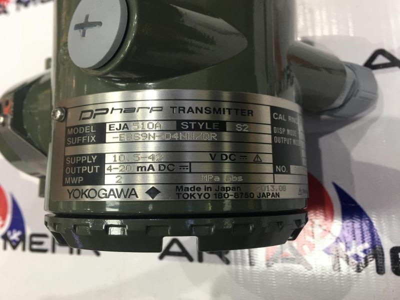 پرشر ترنسمیتر YOKOGAWA - EJA510A