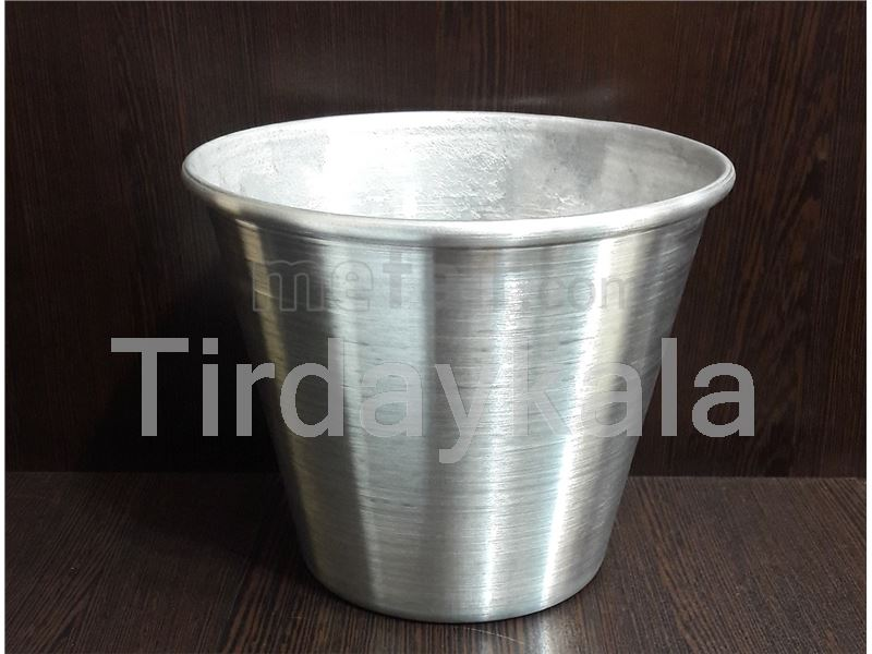 Aluminium milk  bucket