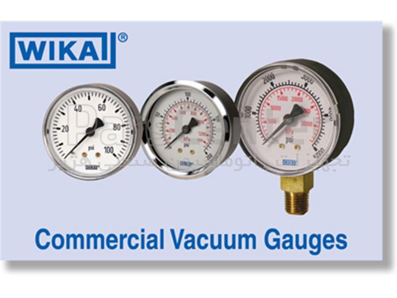 فروش مانومتر  6 سانت  ویکا wika pressure gauge