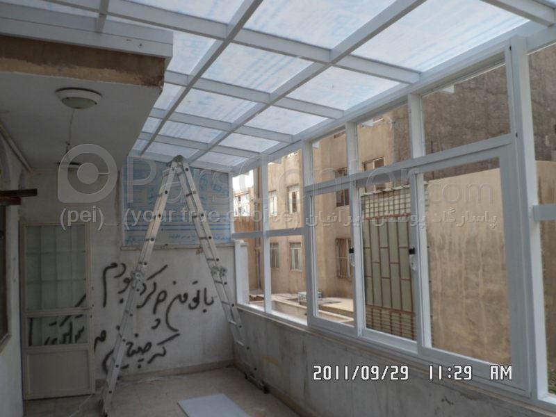 سیتم پوشش بالکن و تراس متحرک Balcony and terrace 8