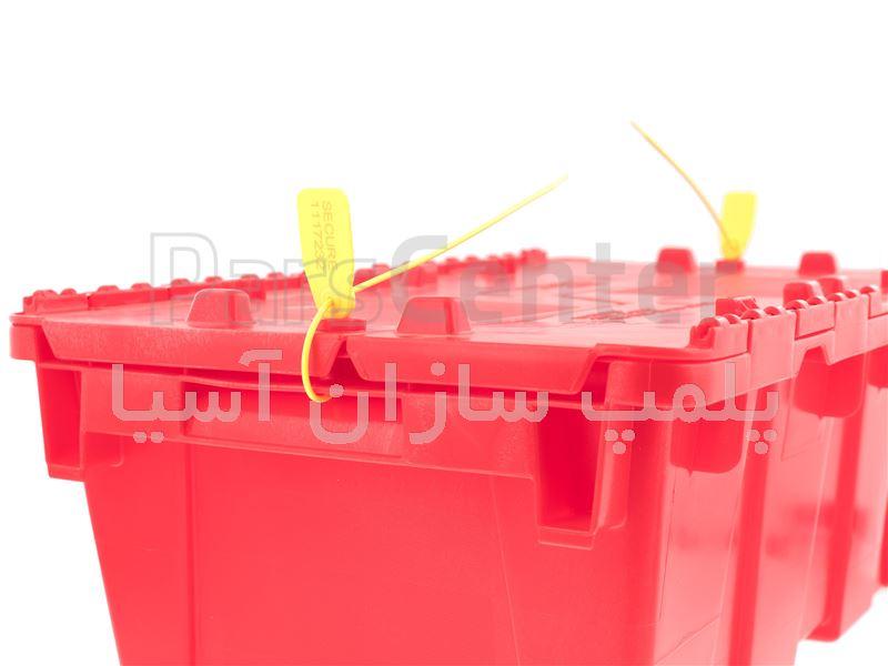 پلمپ تسمه ای پلاستیکی پهن استاندارد انتخابات و صندوق های رای