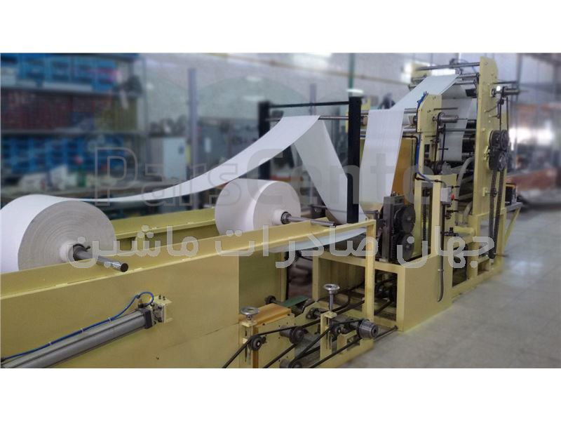 ماشین تولید دستمال کاغذی عرض 41