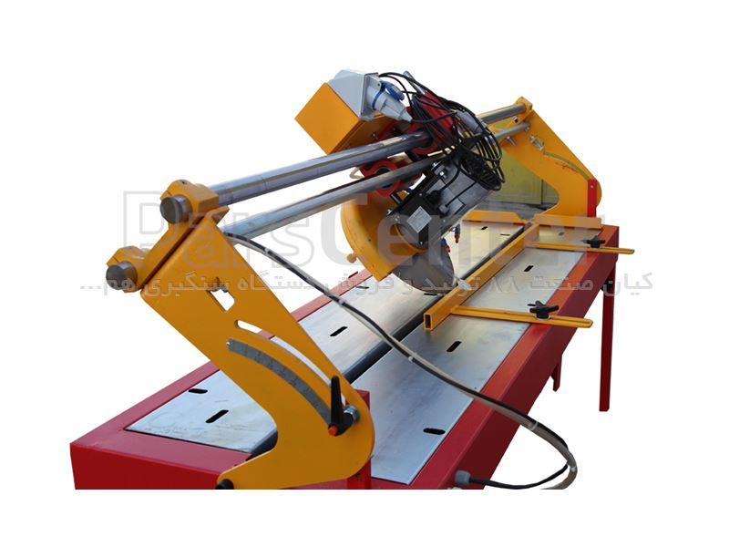دستگاه سنگبری فارسی بر ریلی 2 متری مدل Wolf (ولف) بدنه فولادی