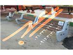 تولید و توزیع انواع نیمکت های پارکی مدل سنگ و چوب