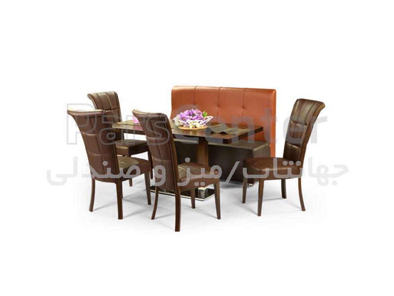 میز چوبی رستورانی مدل 1037S (جهانتاب)