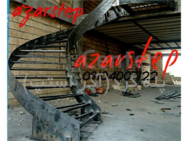 پله گرد،پله پیچ،پله دوبلکس،پله گرد دو محور ورق