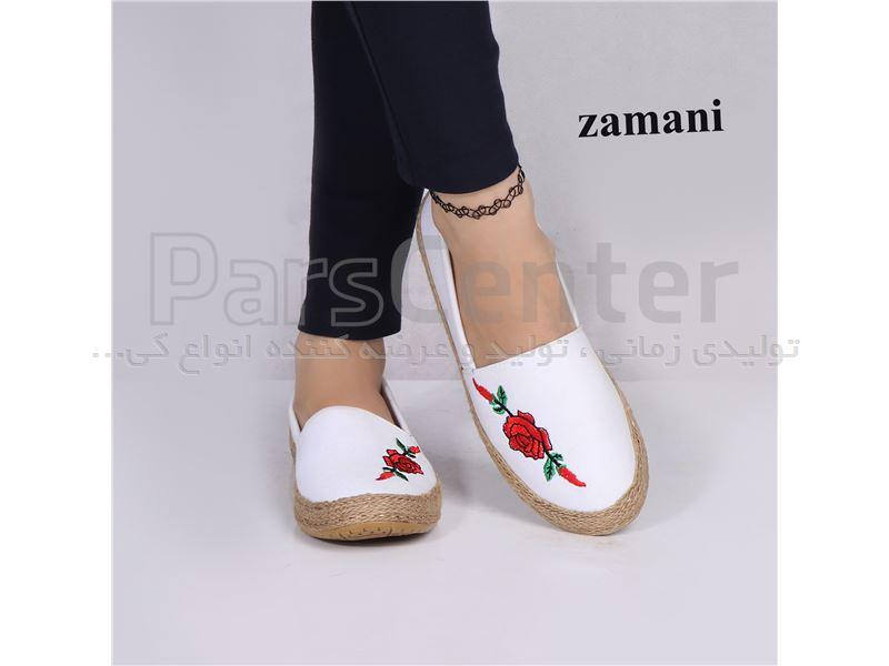 کفش زنانه پارچه ای کد 418
