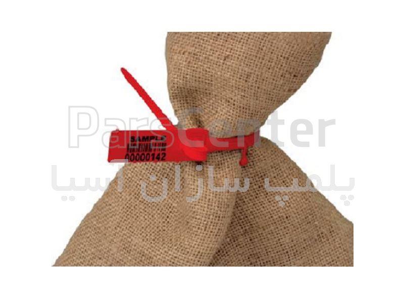 پلمپ تسمه ای پلاستیکی پهن استاندارد سرکیسه ها