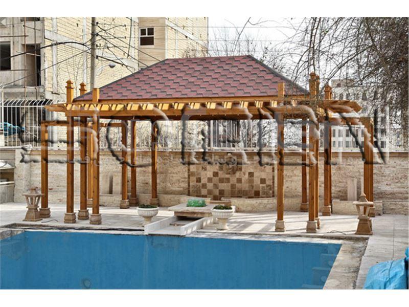 پروژه ی چوبی واقع سعادت آباد
