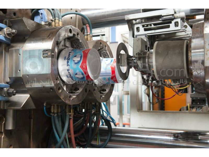 ساخت قالب تزریق پلاستیک ظروف ای ام  ال  IML MOLD