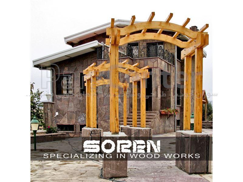 پروژه ی چوبی واقع در آبسرد