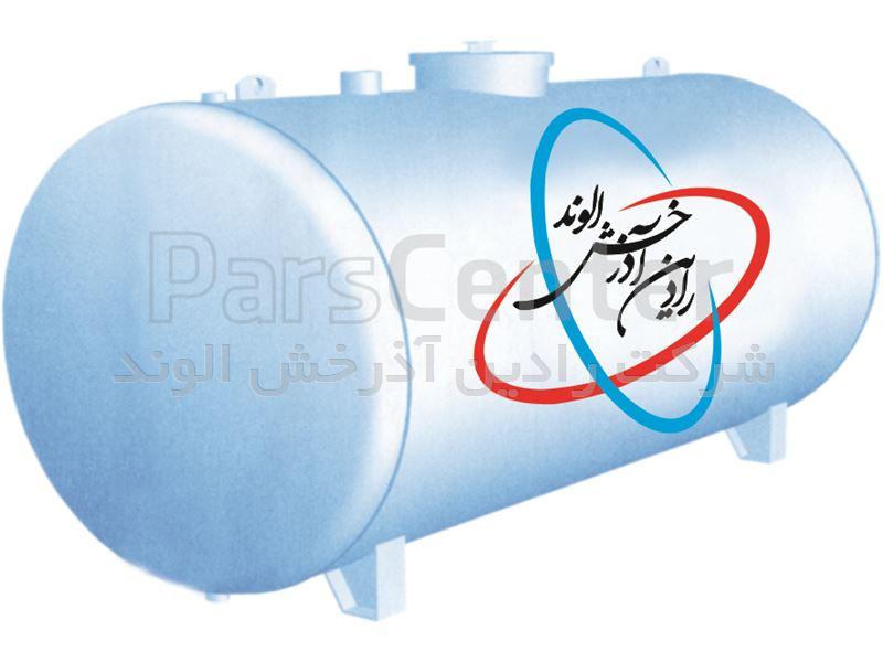 منبع ذخیره سوخت و آب 8000 لیتری گالوانیزه