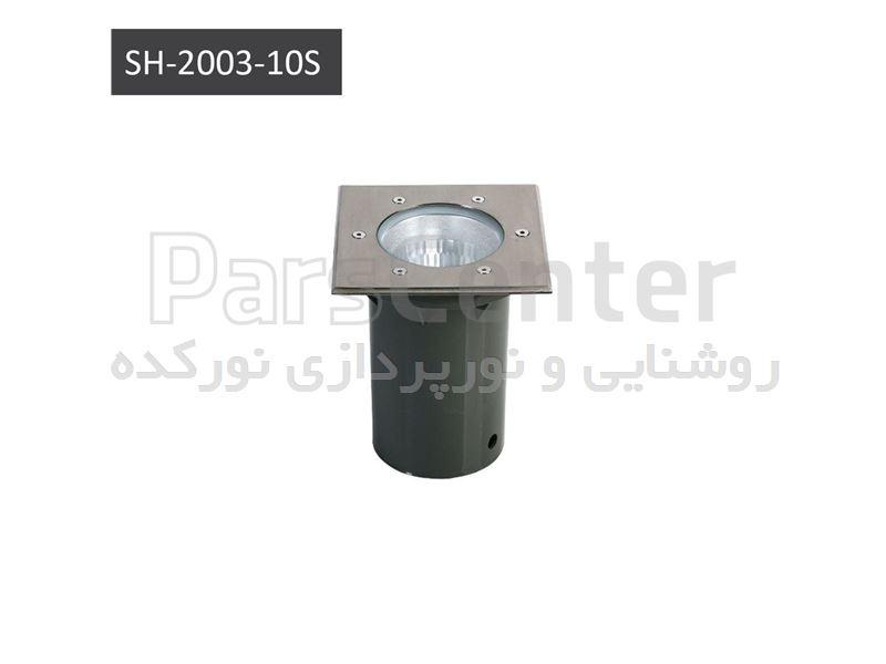 چراغ دفنی مربع و گرد E27 & 150 w metal halide