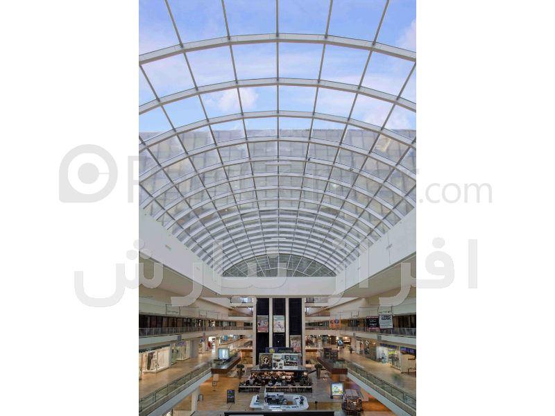 سقف نورگیر مجتمع های مسکونی و تجاری