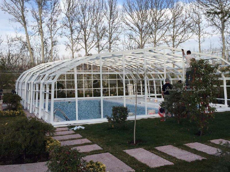 پوشش سقف استخر مدل xv4