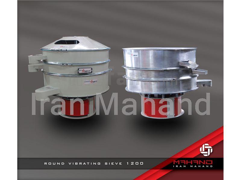 Round vibrating sieve