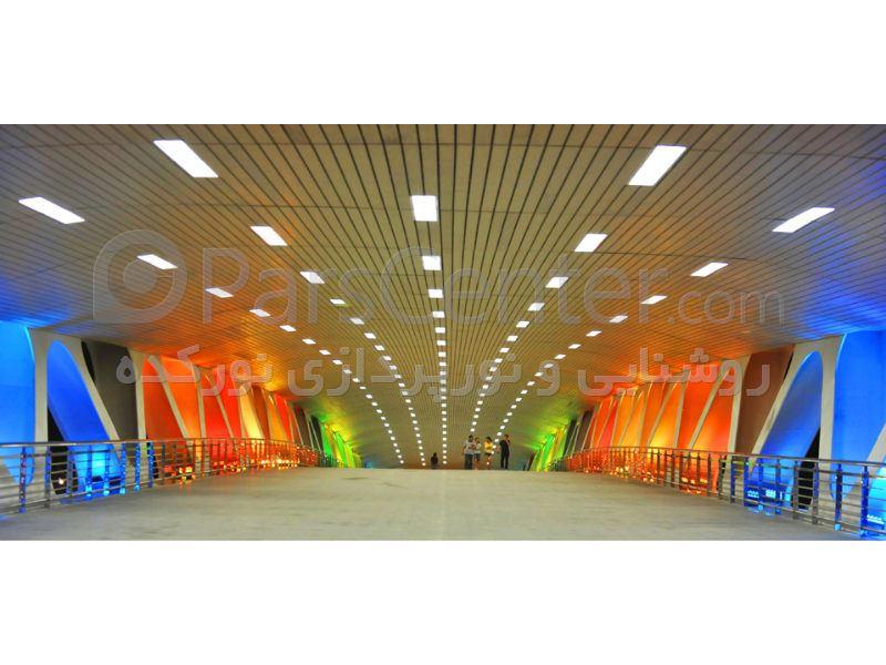 طراحی روشنایی و نورپردازی معمارانه و هنری ساختمان