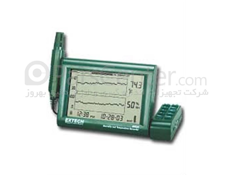 ترموگراف دما و رطوبت مخصوص سردخانه های ثابت و سیار Extech RHT-20