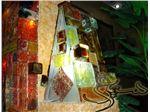 شیشه رنگی دیوار_اصفهان