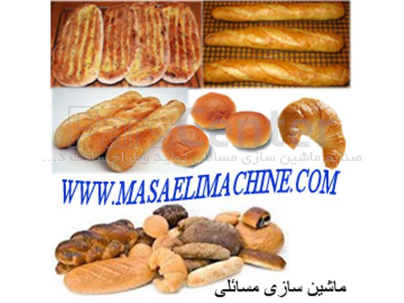 دستگاه بسته بندی نان ، لواش ،پیتا ،اشترودل ،گاتا، شیرمال،نان پیتزا، اسنک
