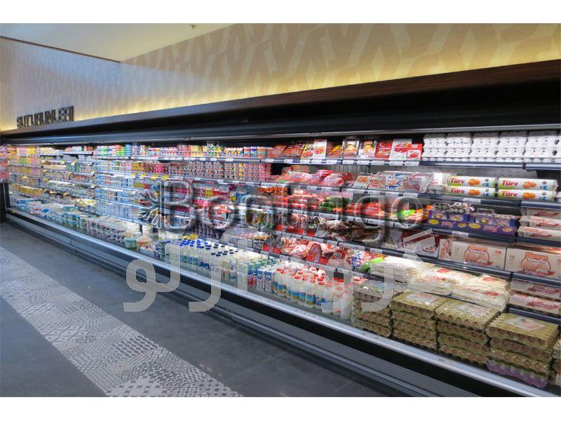 یخچال ایستاده روباز فروشگاهی،یخچال روباز