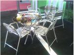 میز و صندلی نمایشگاهی