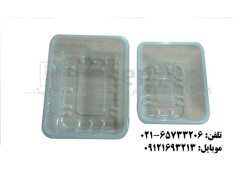 نمونه ظرف غذا تک پرسی برای تهیه قالب