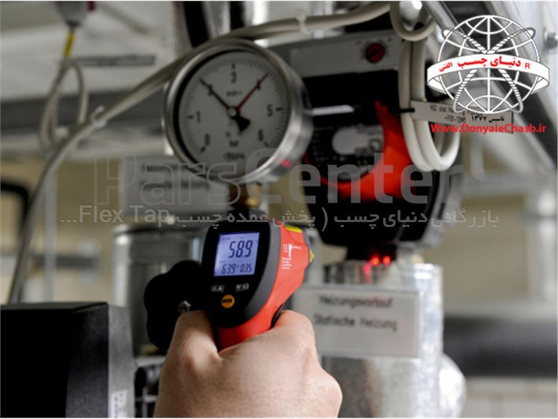 ترمومتر لیزری وورث Wurth Infrared Laser Thermometer آلمان