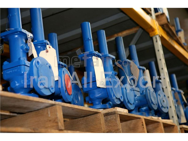 Export industrial Valves from Iran to turkmenistan