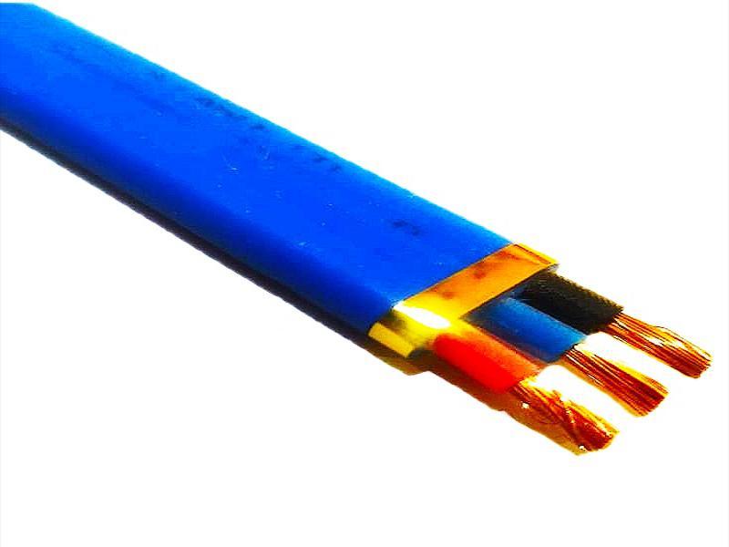 کابل افشان تخت ۲۵×۳ SWR مقاوم در برابر نفوذ آب ،کابل درون چاهی