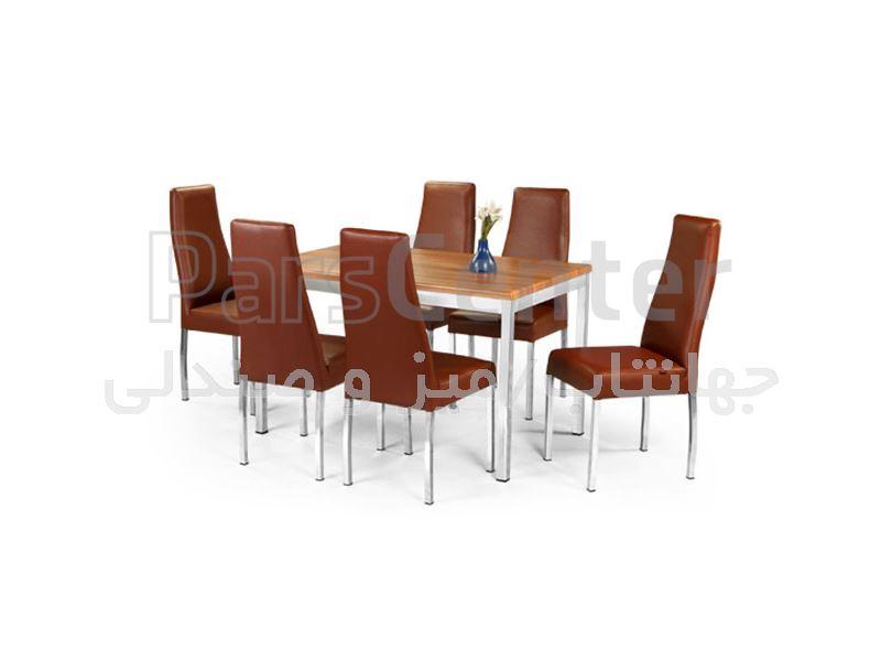 میز فلزی رستوران مدل آدریا (جهانتاب)