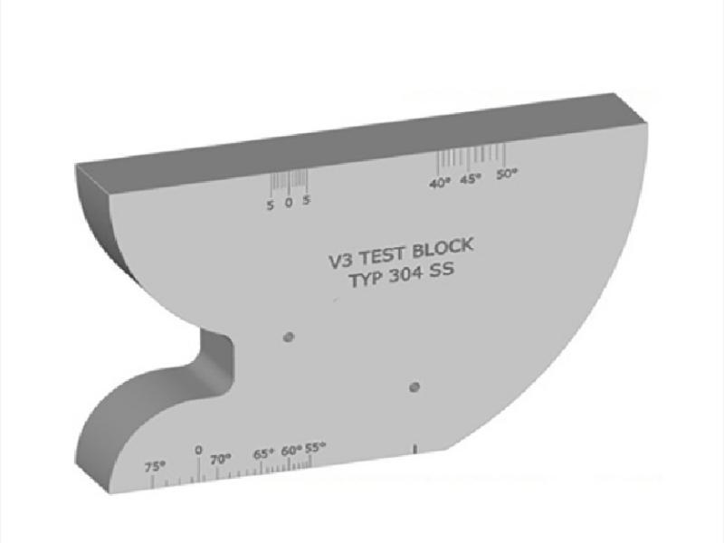 بلوک کالیبراسیون مدل V3 فولادکربنی