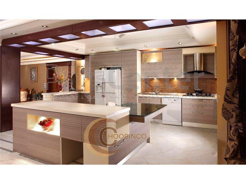 کابینت آشپزخانه و مصنوعات ام دی اف کمجا چوبینکو - مدل k12