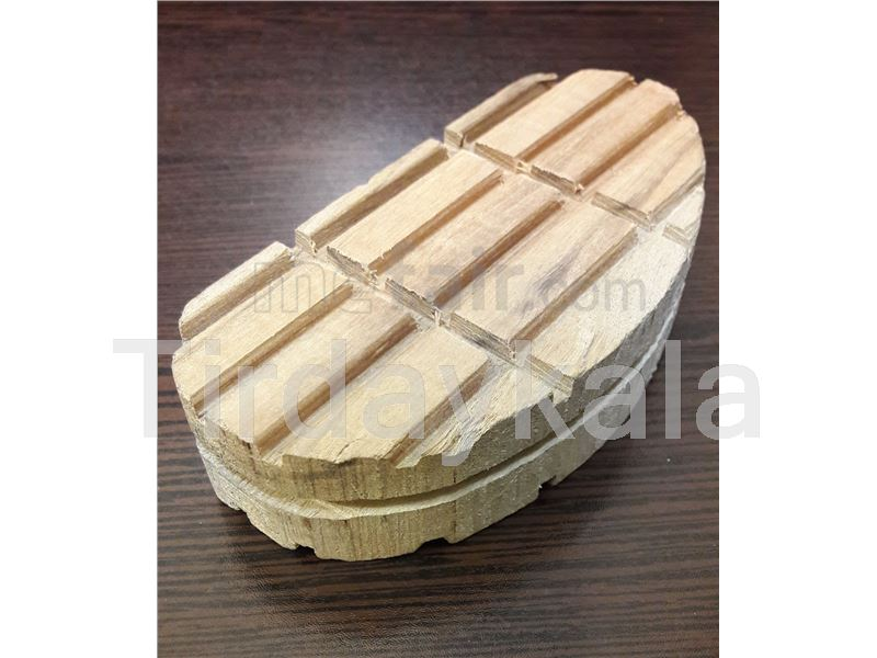 Wooden hoof blocks for cow