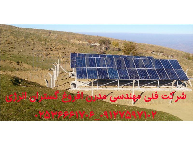 پمپ آب خورشیدی 2 اینچ 77 متری