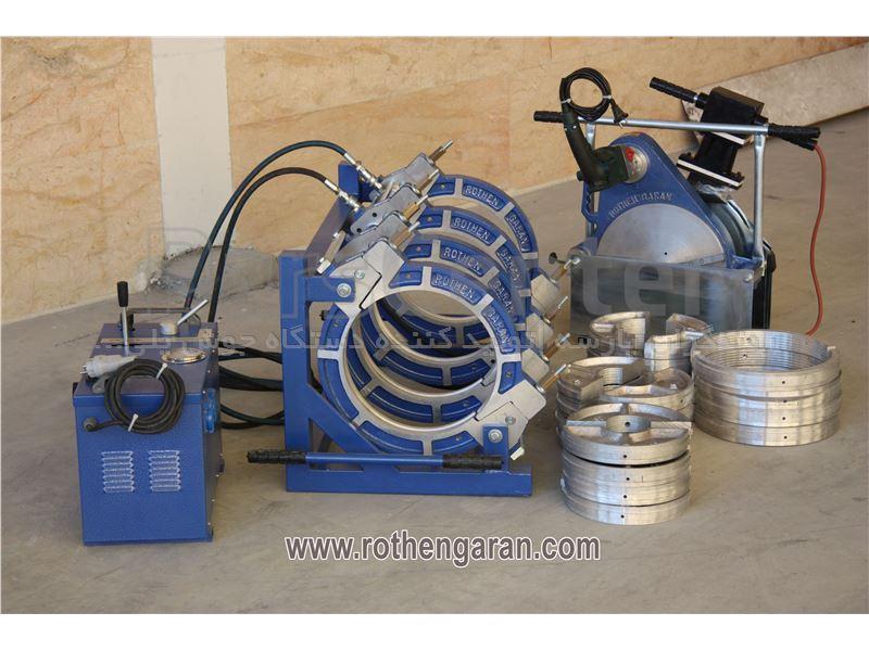 قیمت دستگاه جوش ۱۶۰ هیدرولیک پلی اتیلن روتنگران مدل H50_R160