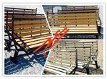 تولید و توزیع انواع نیمکت های پارکی فلز و چوب پلاست