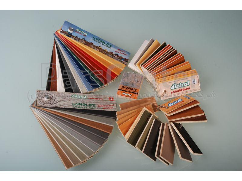 تنوع رنگی محصولات Diotrol