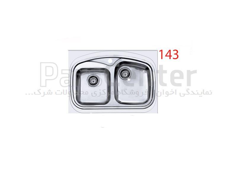 سینک روکار اخوان مدل 143