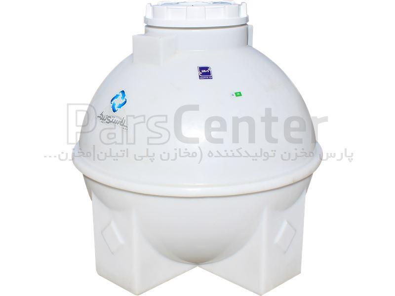 مخزن پلی اتیلن کروی 900 لیتری سه لایه پلاستونیک