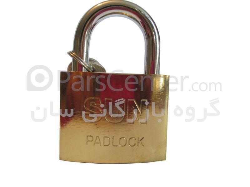 قفل آویز طلایی