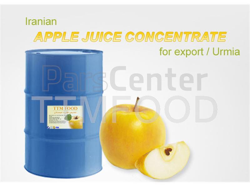 فروش عمده کنسانتره سیب زرد با کیفیت صادراتی