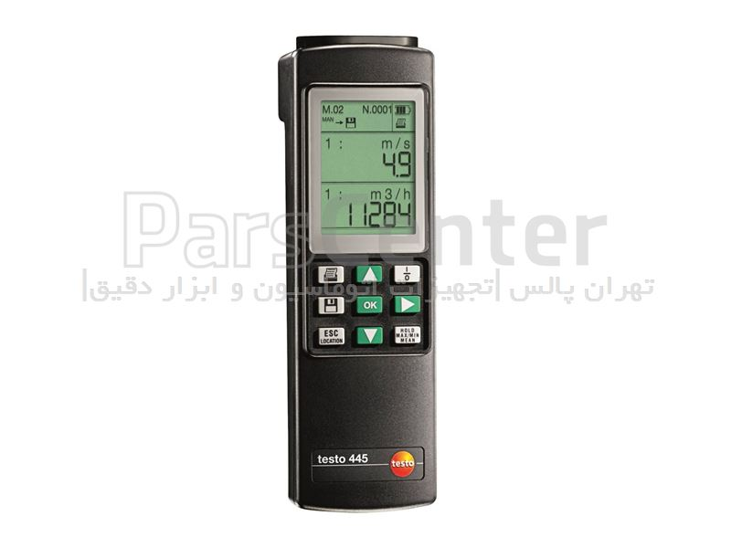 دستگاه اندازه گیری پارامترهای هوا TESTO 445