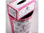 ست سطل زباله چرمی Sweet Home سری 5291